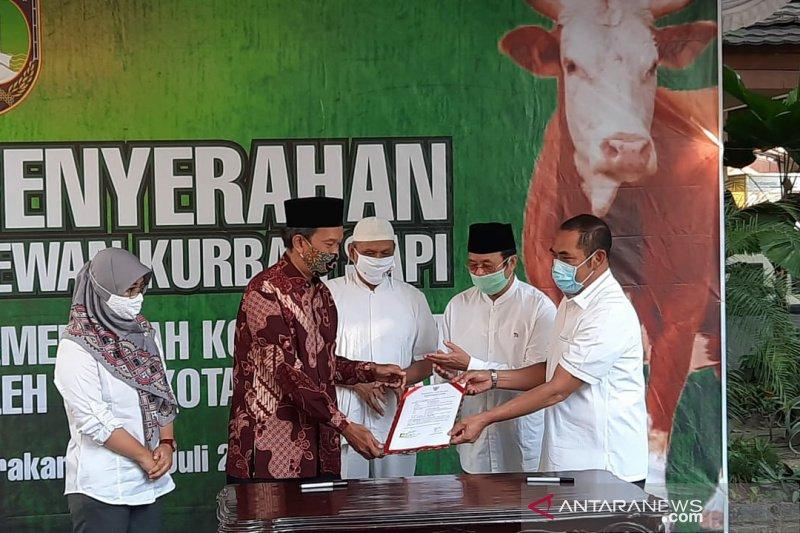 Sembuh COVID-19, Wakil Wali Kota Solo serahkan kurban dari Jokowi