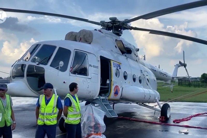 Sumsel datangkan 9 heli pengebom air dari Rusia dan AS