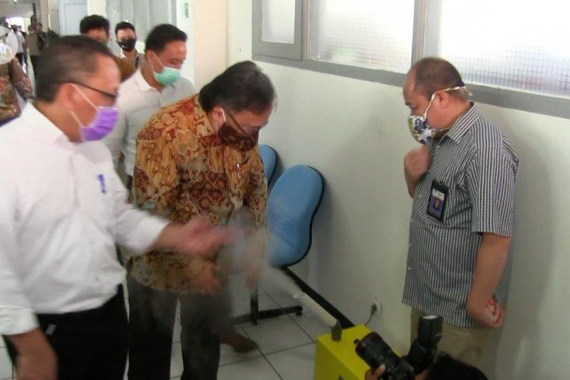 Menristek apresiasi disinfektan ozon buatan LIPI