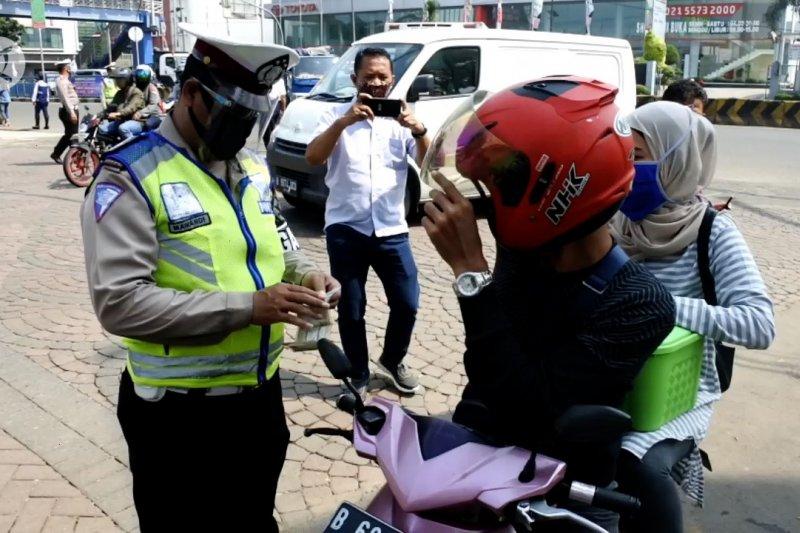 Pelanggar lalin operasi patuh jaya  didominasi pengendara motor