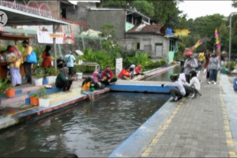 Saluran air kotor menjelma menjadi tempat wisata edukasi