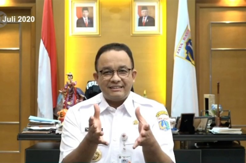 Jakarta perpanjang PSBB Transisi, ini alasan Anies