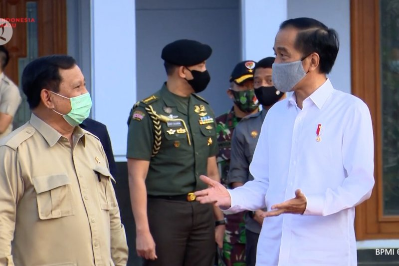 Jokowi dan Prabowo bertolak ke Kalteng tinjau Lumbung Pangan