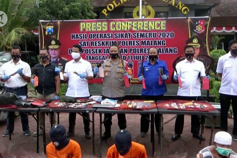Operasi Sikat Semeru, Polres Malang duduki peringkat kedua