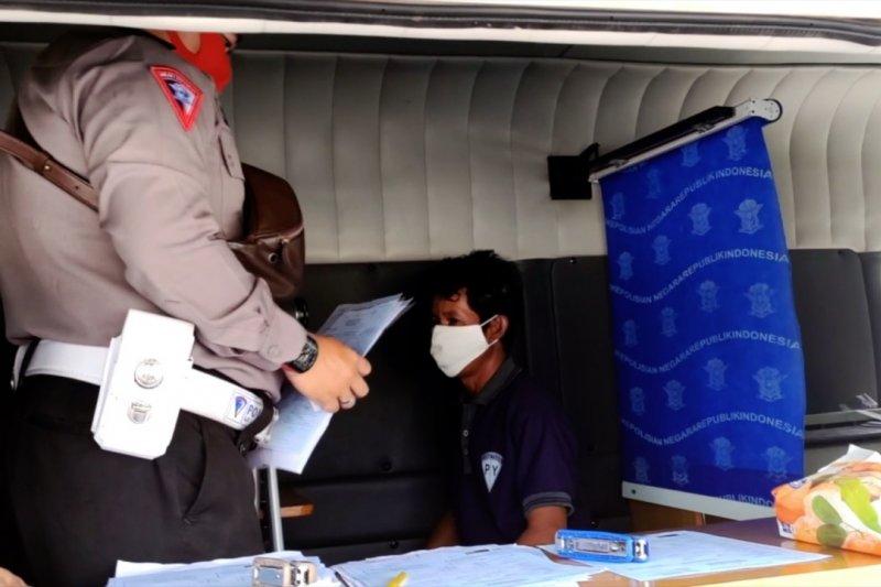Polres Kapuas lakukan pelayanan SIM hingga ke pelosok