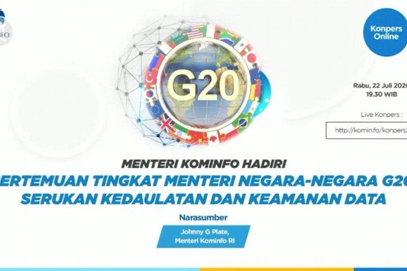 Indonesia serukan keamanan data dalam pertemuan tingkat menteri G20