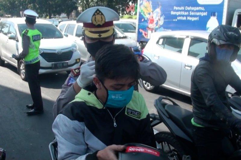 Sambut AKB, polisi sasar pelanggar protokol kesehatan