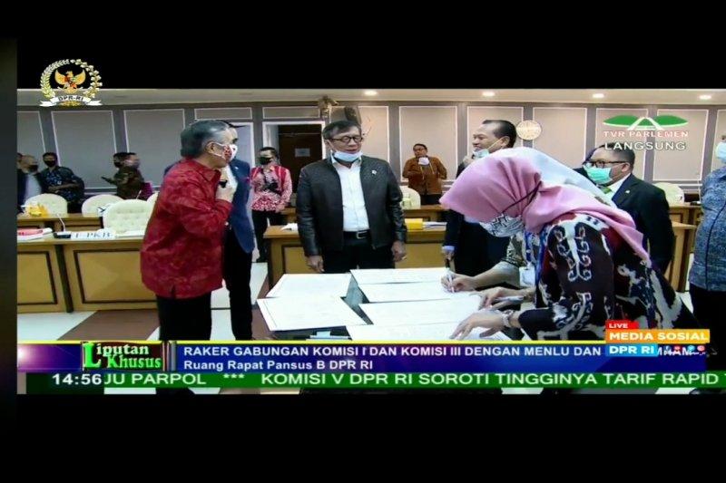 Jalan terang penegakan hukum lintas negara Indonesia-Swiss