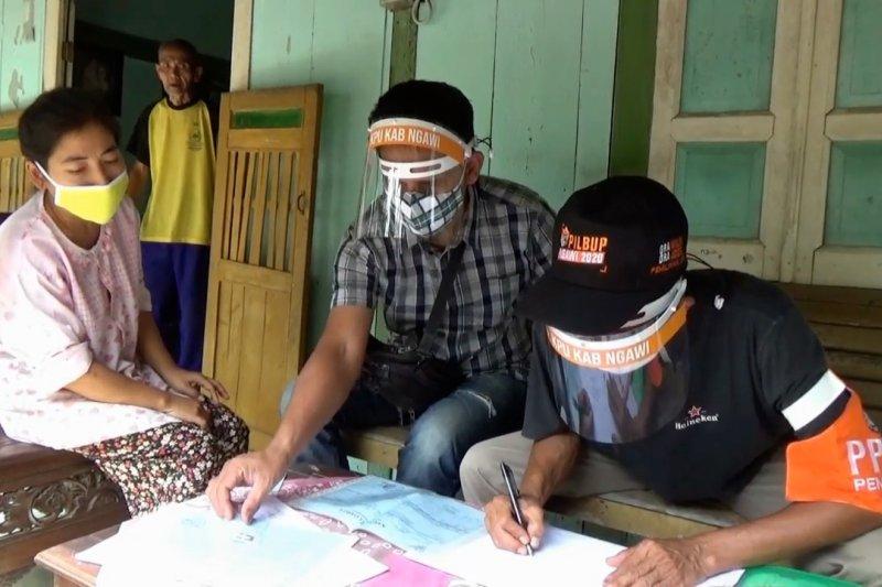 KPU Ngawi lakukan pemutakhiran data pemilih