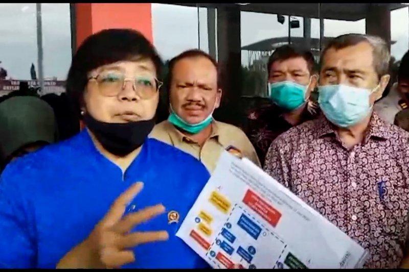 Siti Nurbaya: Pencegahan karhutla tersistem sebagai solusi permanen