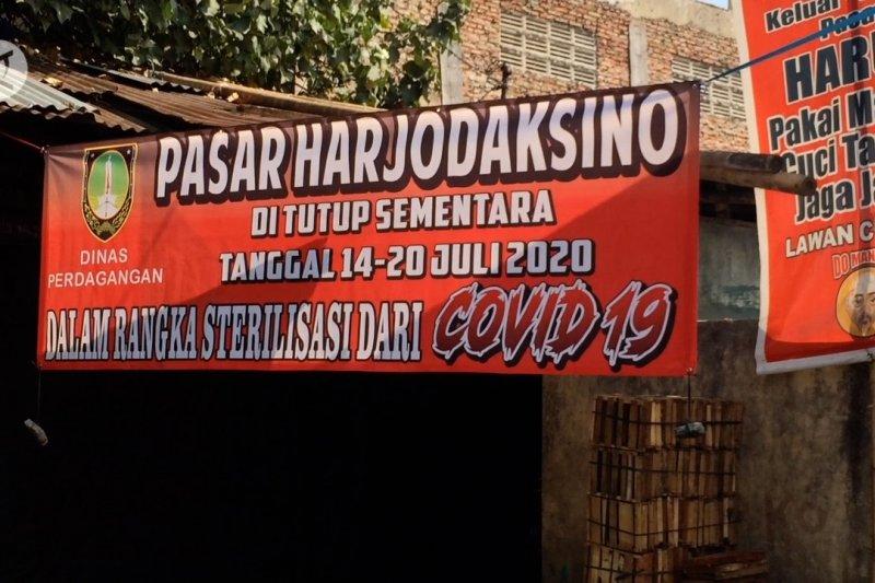 Pedagang meninggal akibat COVID-19, Pasar di Solo ditutup sepekan