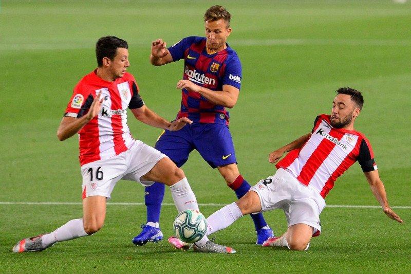 Barcelona disiplinkan Arthur Melo sebelum pindah ke Juve