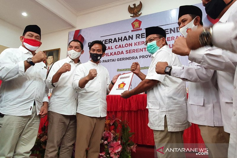 Gerindra resmi usung Gibran-Teguh pada Pilkada Surakarta 2020