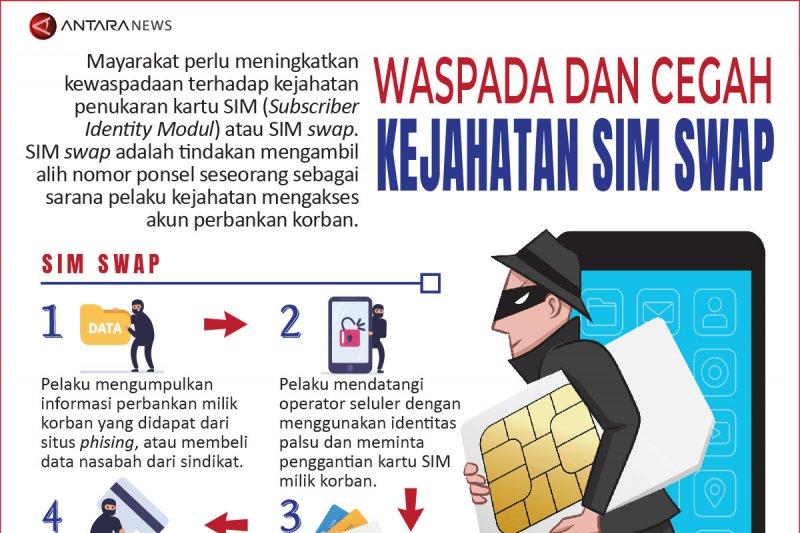 Waspada dan cegah kejahatan 'SIM swap'