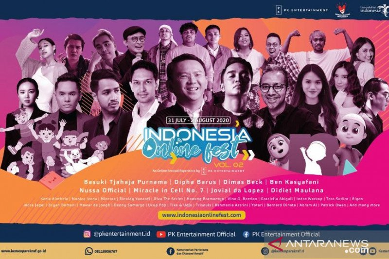 Indonesia Online Festival beri ruang pelaku kreatif ciptakan ekosistem