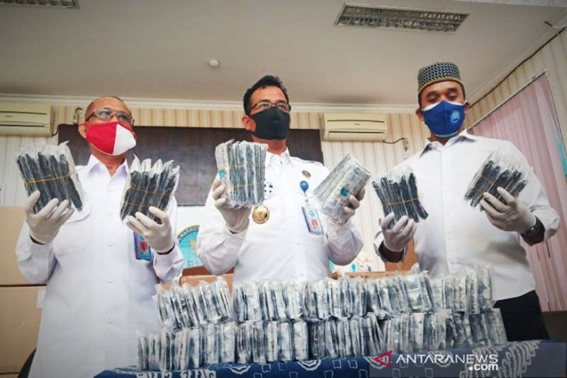 BNN tangkap pria asal Sampit pembawa 400 ribu pil