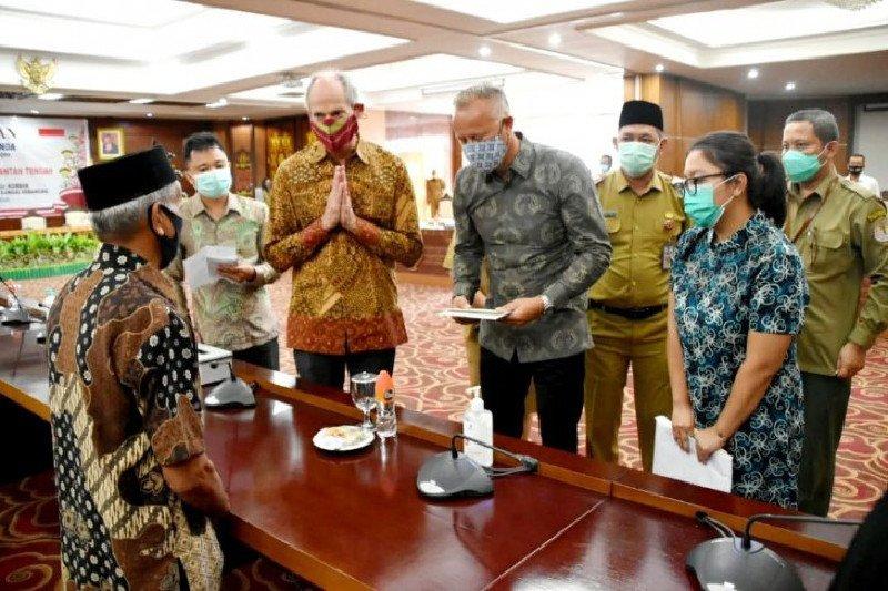 Dubes Belanda temui keluarga korban kecelakaan di Sungai Sebangau