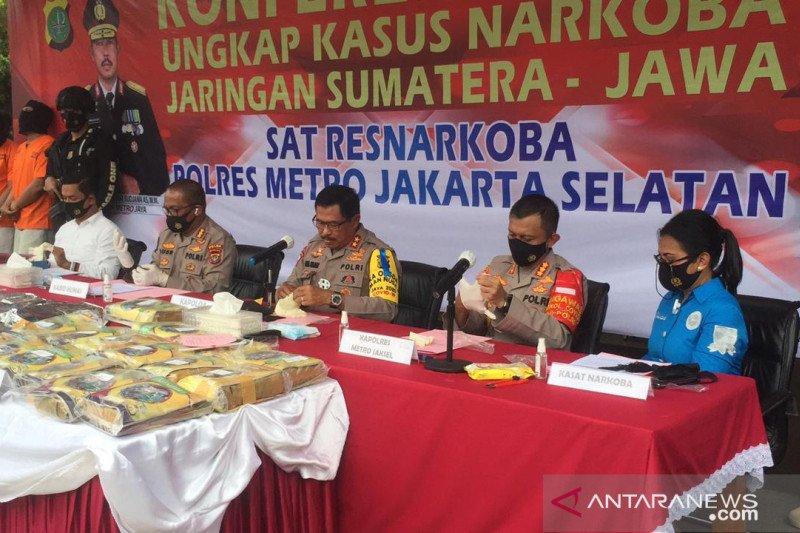 Polisi gagalkan pengiriman 131 kg sabu dalam truk pengangkut batu bata