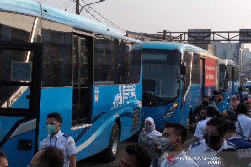 PPD uji coba pengoperasian bus Bogor-Jakarta pada tiga trayek