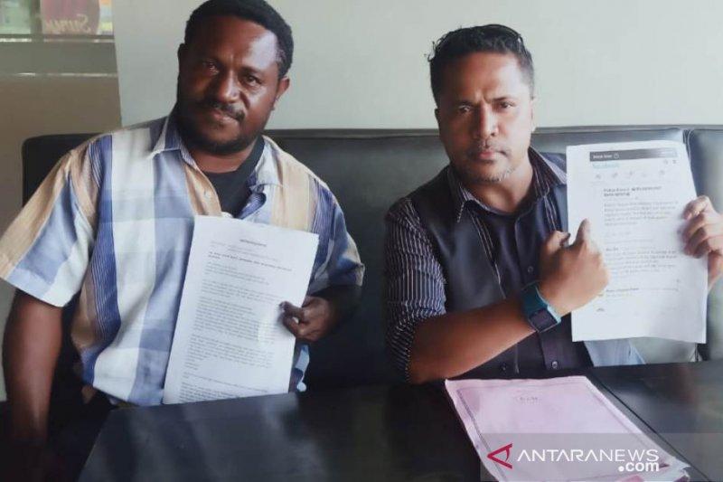Bupati Mamberamo Raya lapor  ke polisi terkait pencemaran nama baik