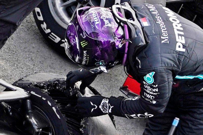Pirelli ungkap penyebab pecah ban Hamilton di GP Britania