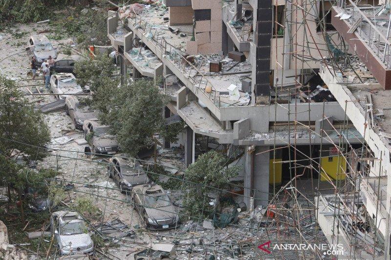 Beirut bergolak akibat ledakan, jumlah korban tewas capai 100 jiwa