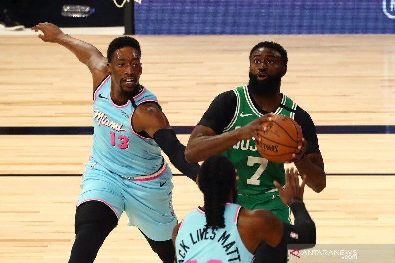 NBA: Miami Heat kalahkan Boston Celtics 112 - 106
