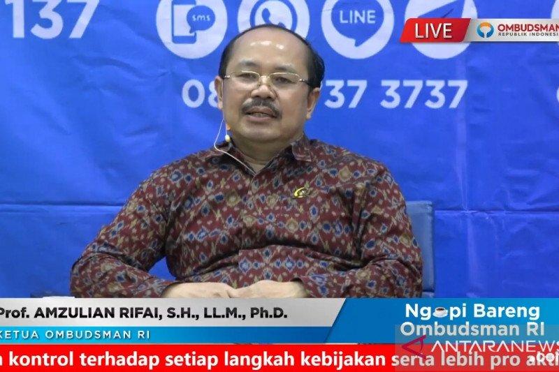 Ombudsman RI terima 1.346 pengaduan bansos selama pandemi