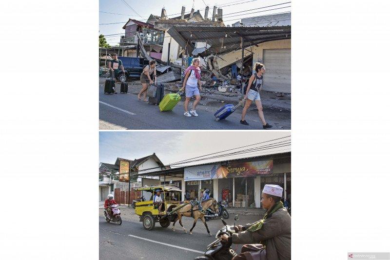 Dua tahun bencana gempa Lombok