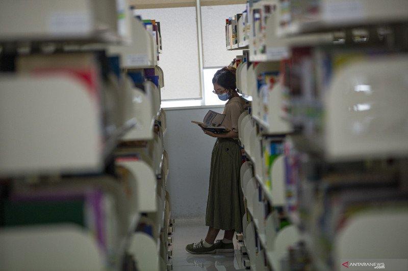 Jumlah pengunjung di Perpustakaan Nasional dibatasi selama PSBB transisi