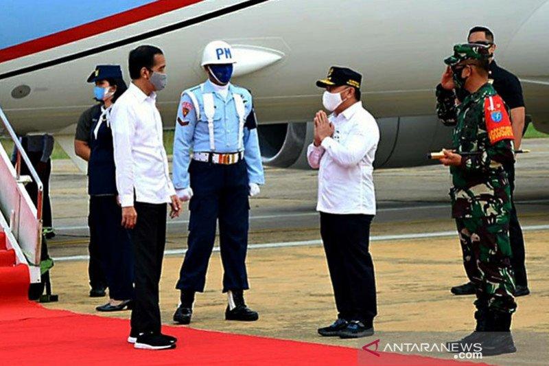 Presiden Jokowi: 8 bandara berpotensi jadi hub akselerasi pariwisata