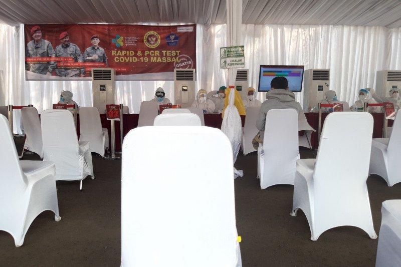 BIN tes cepat dan usap pegawai Komisi Aparatur Sipil Negara