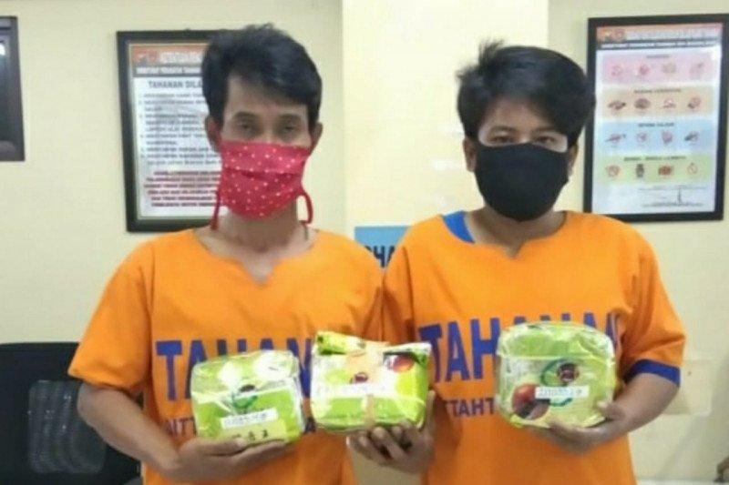Polda Jatim gagalkan peredaran sabu jaringan Malaysia