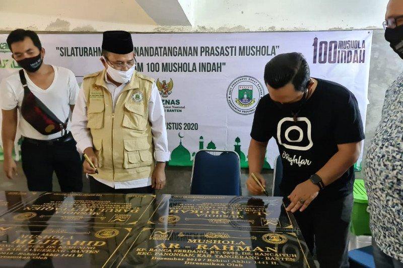 Lembaga sosial Wali Band digandeng Baznas Banten rehabilitasi mushala