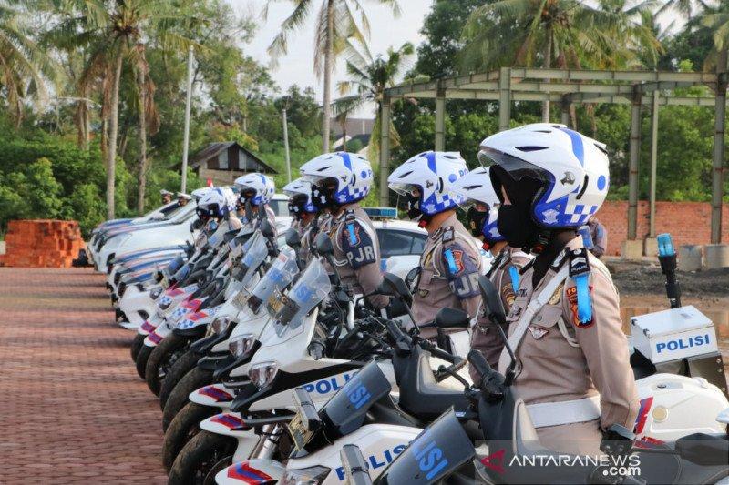 Tindakan tilang dalam Operasi Patuh Nala di Bengkulu turun 71 persen