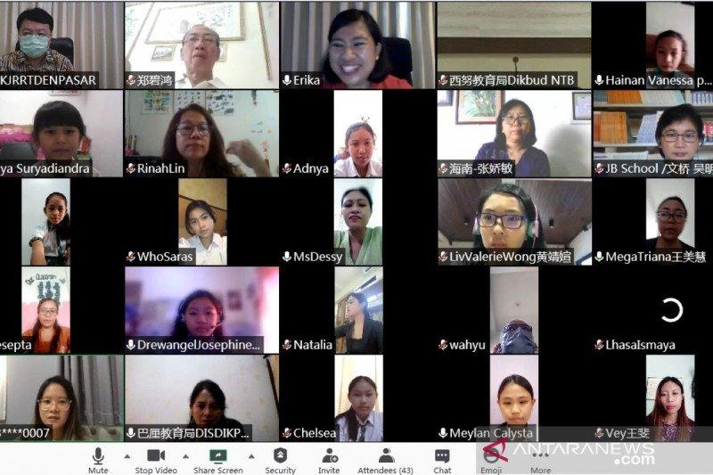 Konjen RRT di Denpasar serahkan beasiswa studi bahasa Mandarin