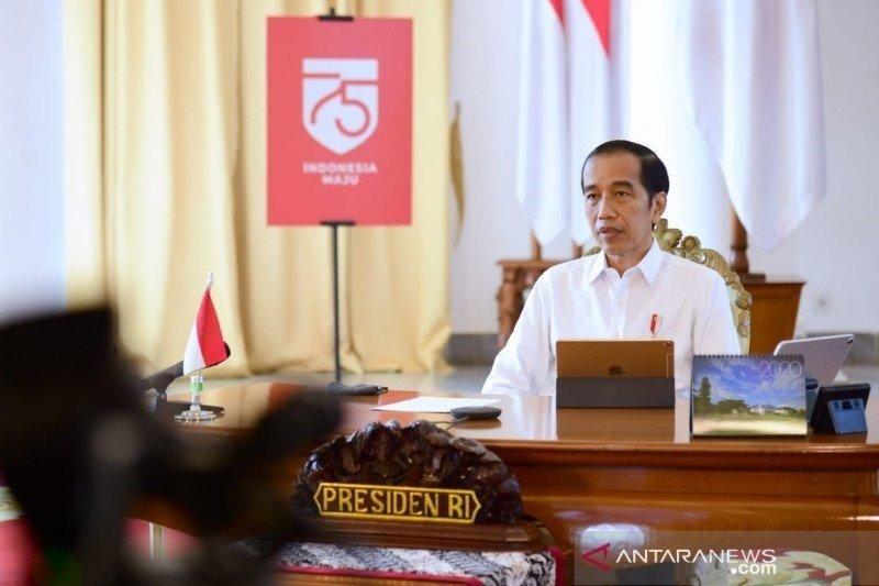 Presiden harap kader Gerindra bantu negara lawan COVID-19