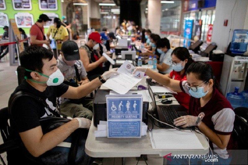 Ekonomi Q3 Filipina susut 11,5%, pemerintah: yang terburuk sudah lewat