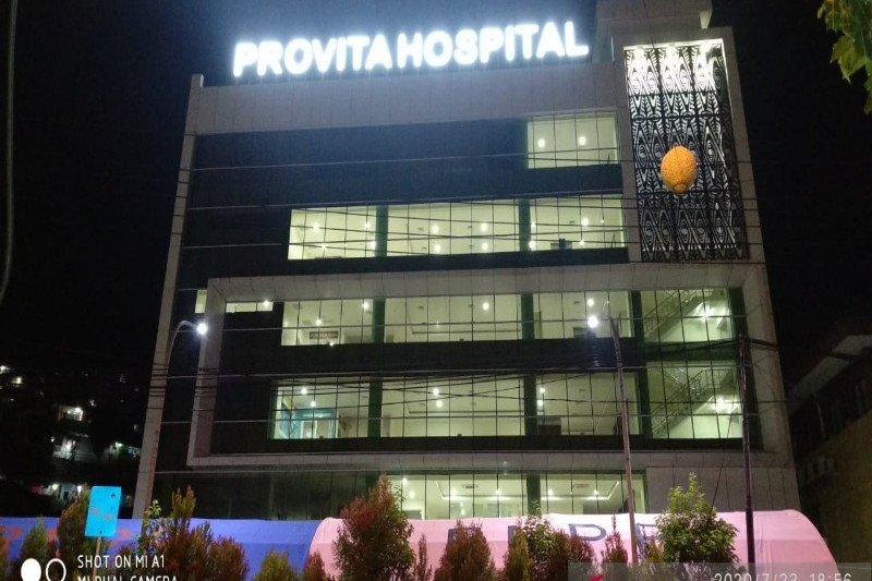 Usai 54 nakes positif, RS Provita Jayapura mulai dibuka terbatas