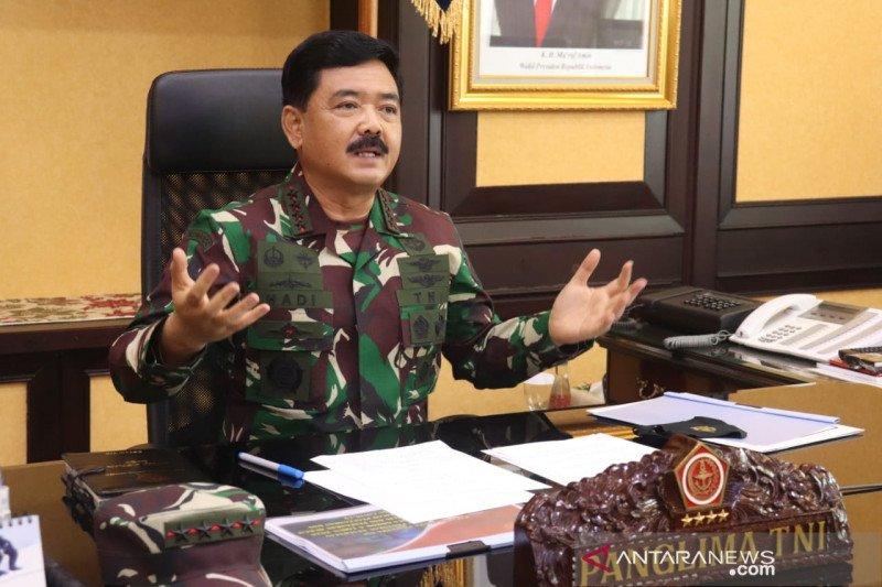 Panglima TNI terima laporan kenaikan pangkat 19 perwira tinggi