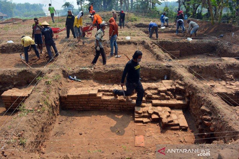 Ekskavasi situs Kumitir di Mojokerto