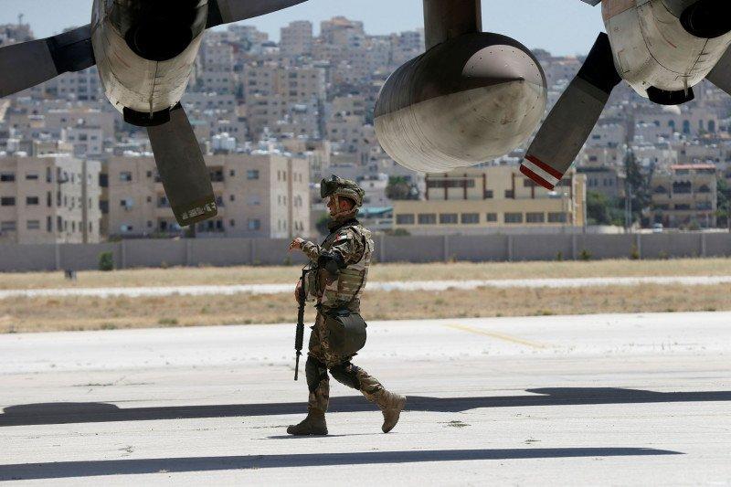 Ledakan besar guncang pangkalan militer Yordania