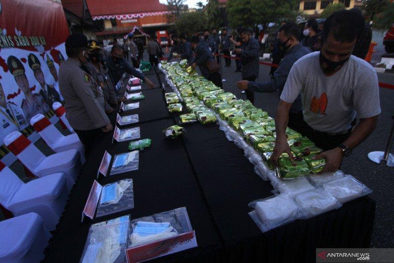 KNPI Banjarmasin apresiasi Polda Kalsel ungkap 300 Kg sabu-sabu