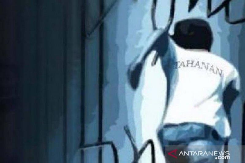 Polisi kejar lima tahanan kabur di Polsek Medan Area