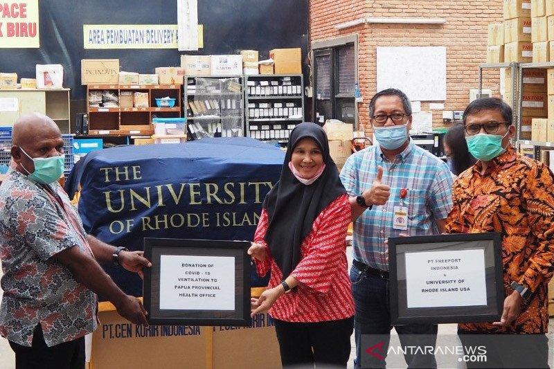 Universitas Rhode Island AS bantu 70 ventilator untuk Papua