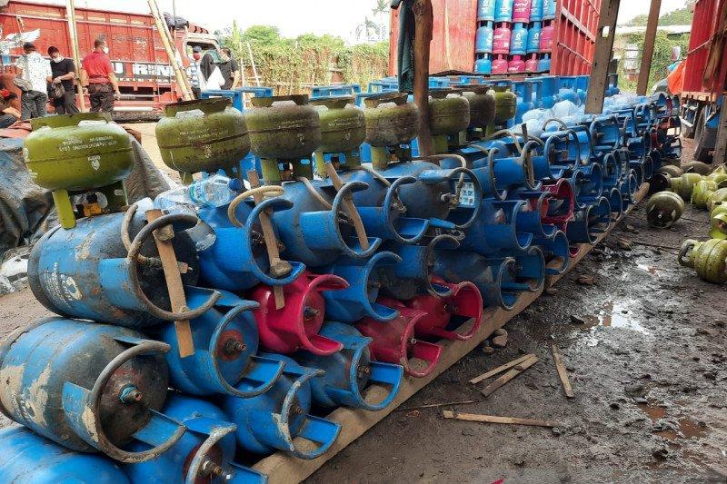 Bareskrim Polri ungkap penyimpangan tabung gas subsidi