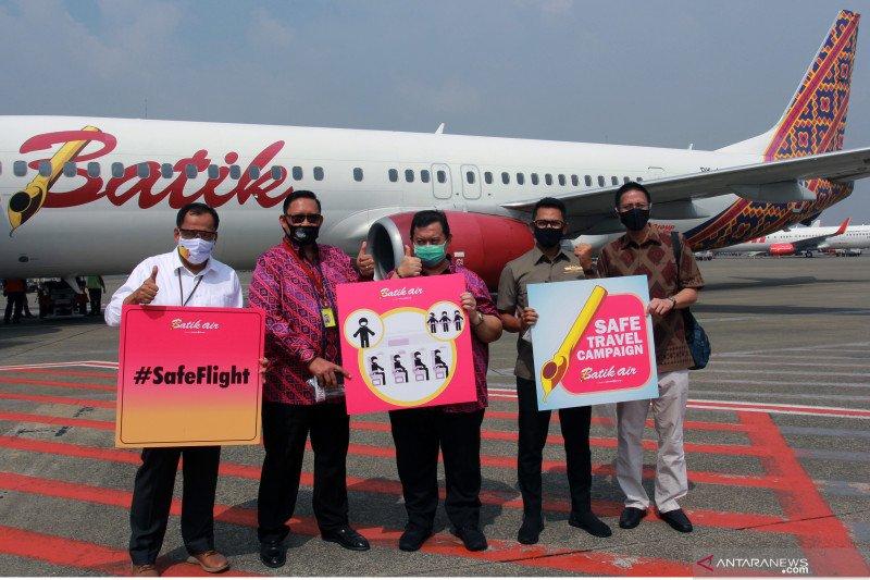 Enam penumpang positif, Dishub larang Batik Air ke Bandara Supadio