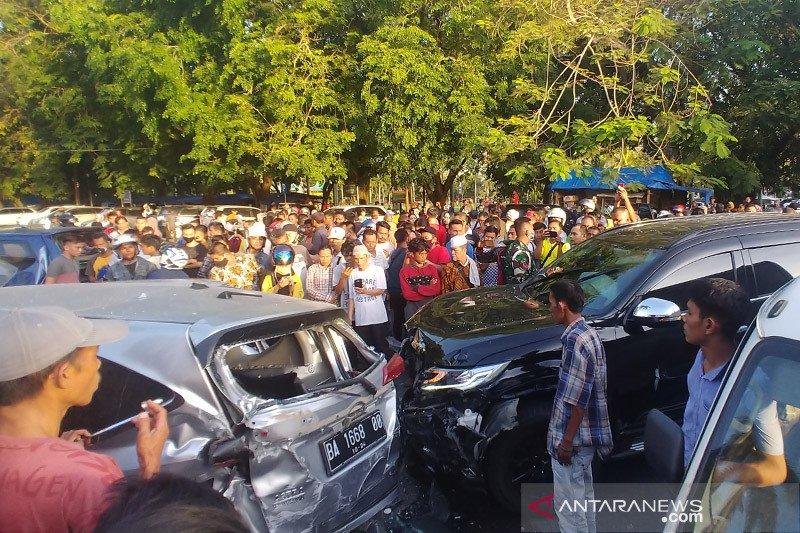 Polda Sumbar akui oknum polisi pelaku penabrak enam mobil di Padang