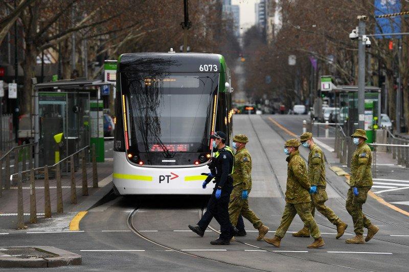 Australia menuju kenaikan satu hari terendah dalam kasus COVID-19