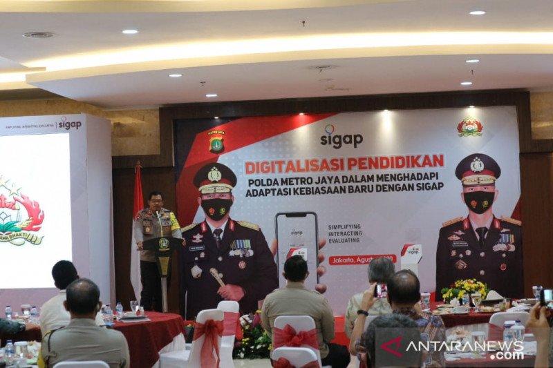 SPN Polda Metro Jaya terapkan pendidikan berbasis aplikasi daring